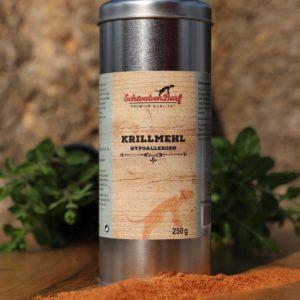 Schwabenbarf Nahrungsergänzungen Krillmehl Hypoalergen