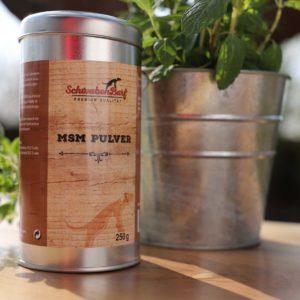Schwabenbarf Nahrungsergänzungen MSM Pulver