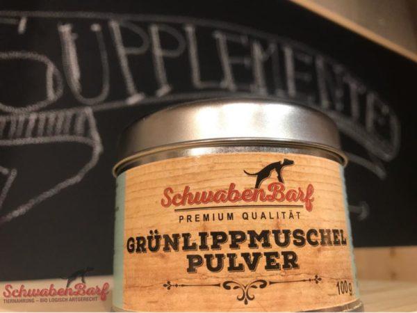 Schwabenbarf Grünlippmuschel Pulver