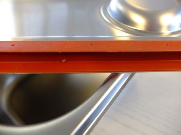 Schwabenbarf Frostfutter-Edelstahlbehälter mit Deckel