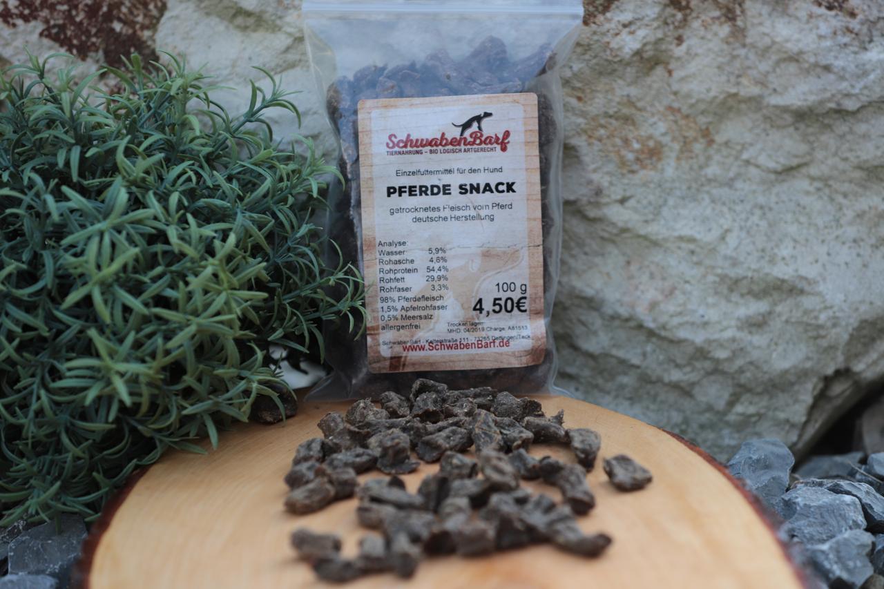 Schwabenbarf Pferde Snack (100 gr)