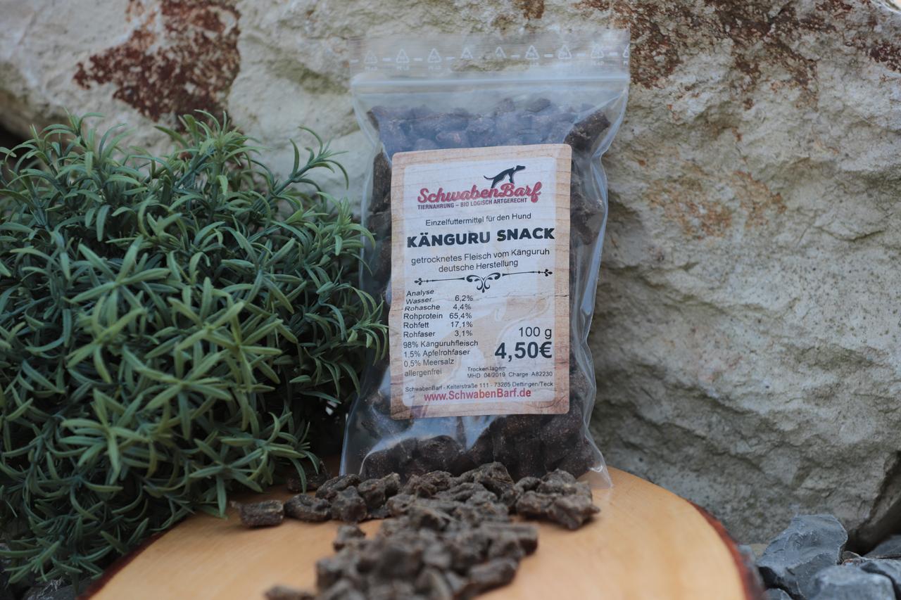 Schwabenbarf Kängeruh Snack (100 gr)