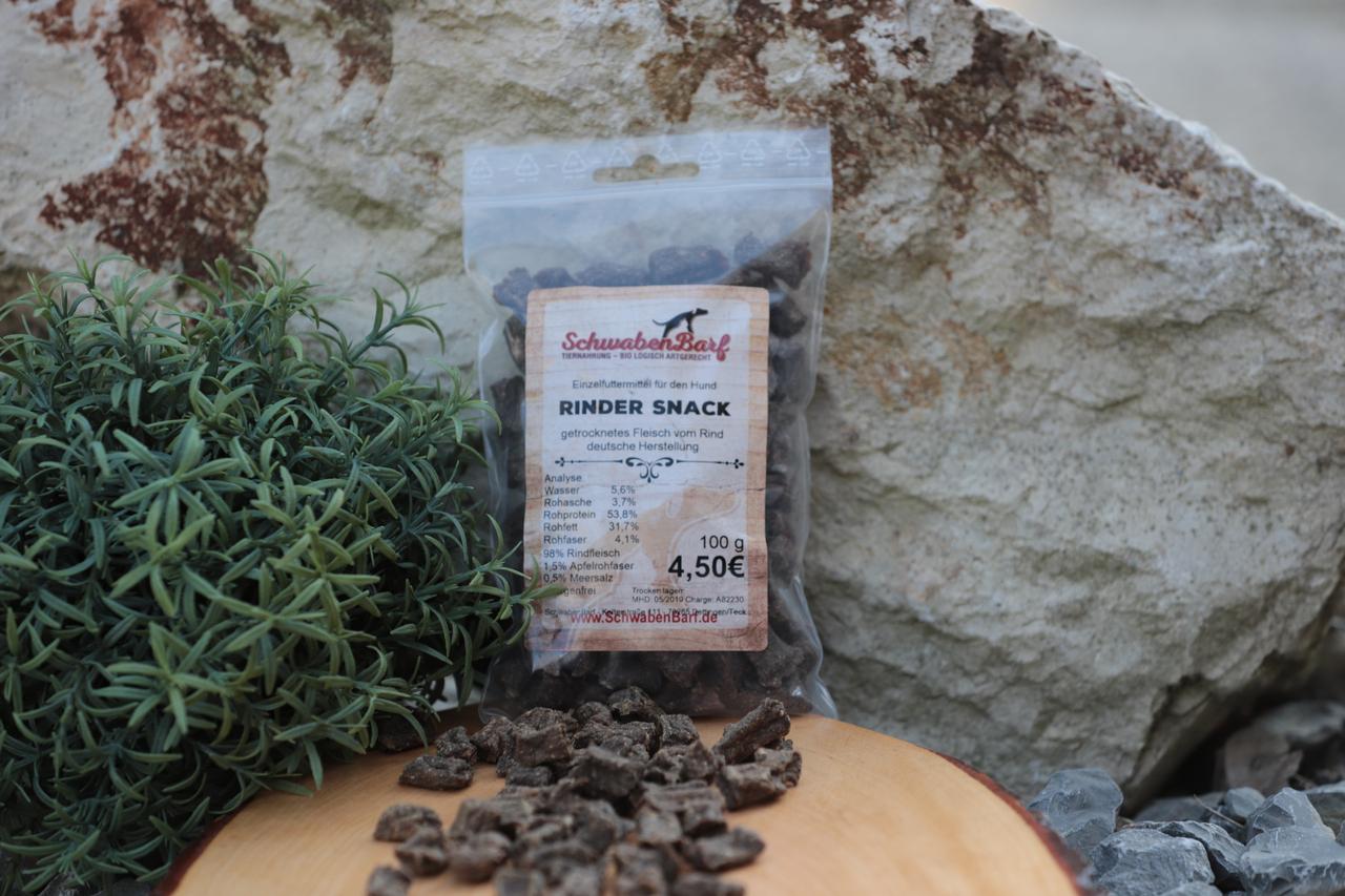 Schwabenbarf Rinder Snack (100 gr)